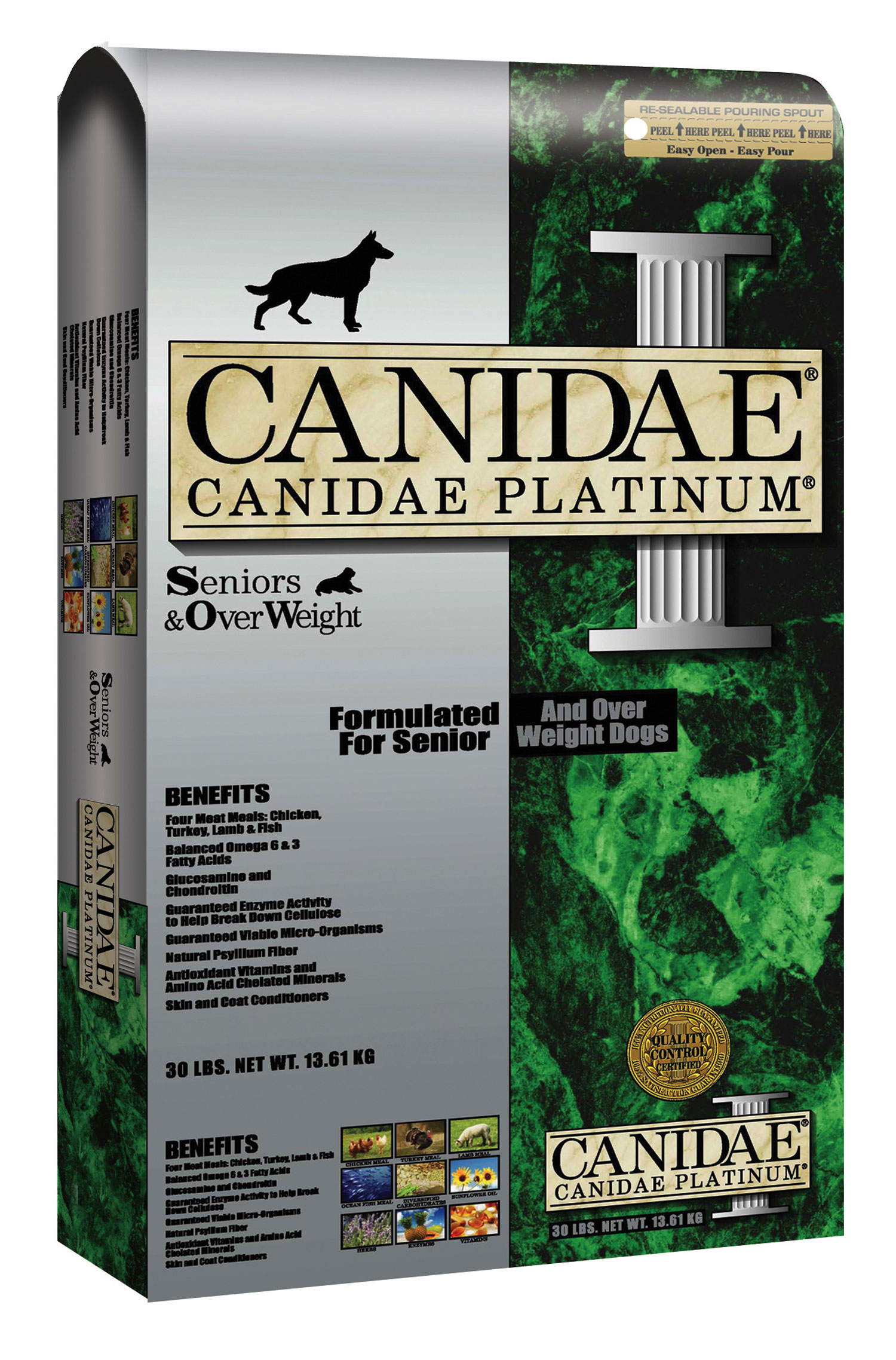 canidae platinum formula for seniors and over weight dogs. Black Bedroom Furniture Sets. Home Design Ideas