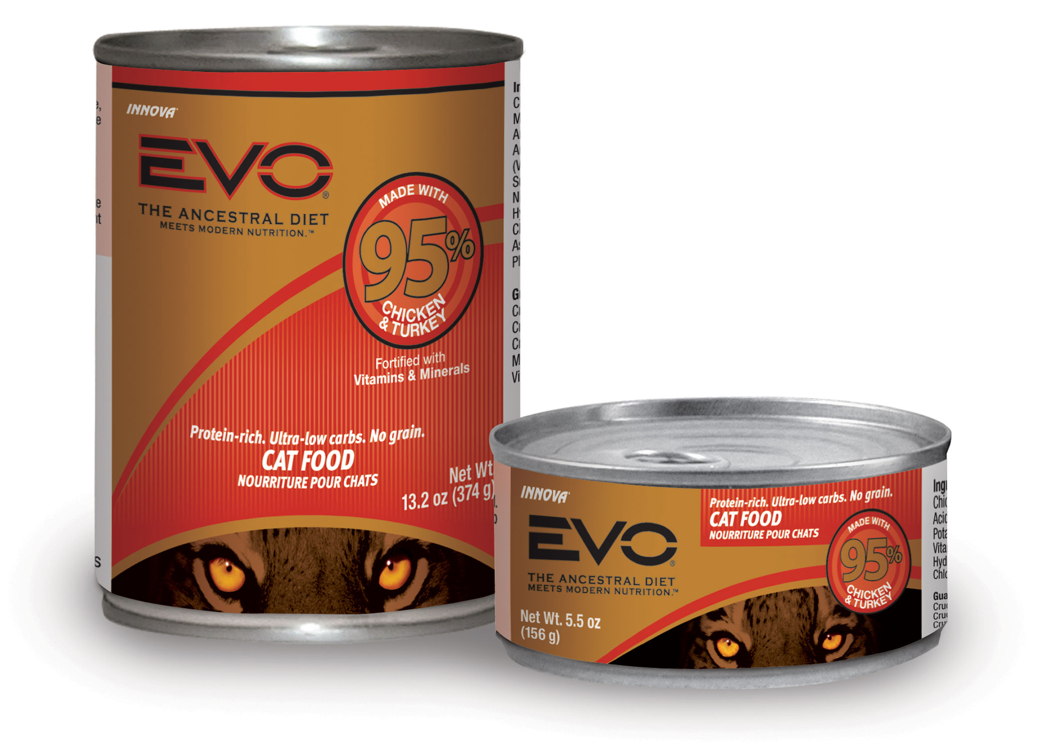 Evo Canned Cat Food Ingredients