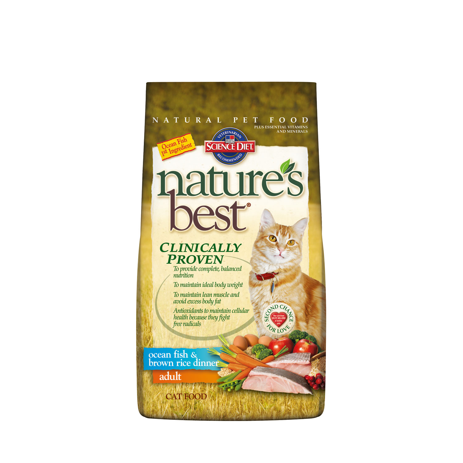 Home Dry Food Cat Science Diet Nature's Best Adult Ocean Fish and ...