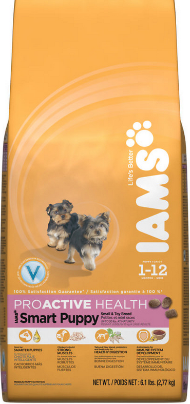Iams Proactive Health Smart Puppy Small Toy Breed Dry Dog