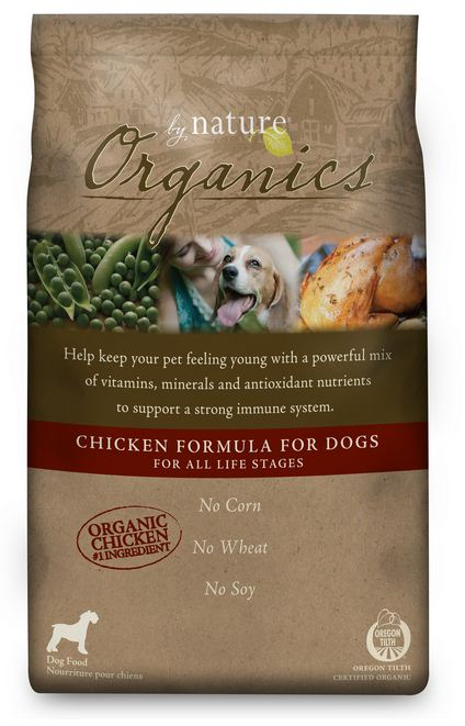 By Nature Organics Chicken Formula Dry Dog Food
