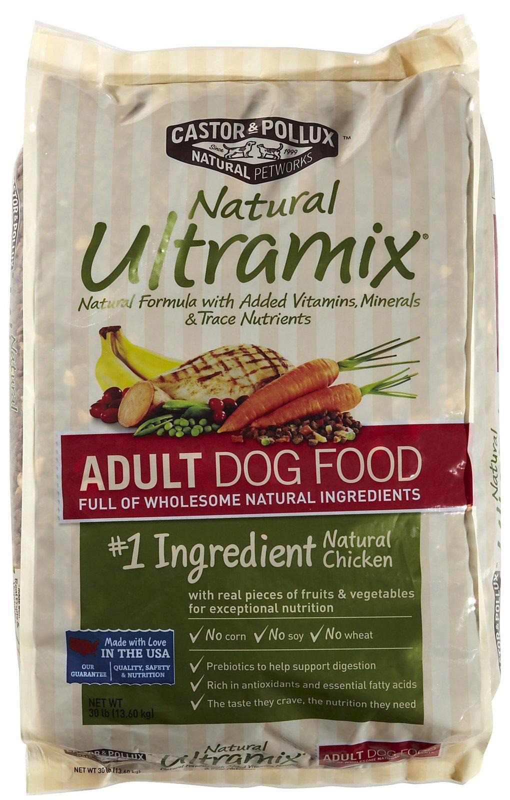 Castor And Pollux Ultramix Dog Food Reviews