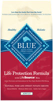 Blue Buffalo Adult Fish and Sweet Potato Recipe Dry Dog Food
