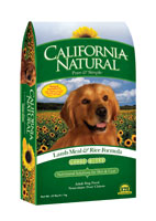California Natural Lamb Meal and Rice Large Bite Dry Dog Food