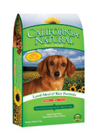 California Natural Lamb Meal and Rice Small Bite Dry Dog Food