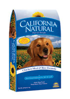 California Natural Chicken Meal and Rice Dry Dog Food
