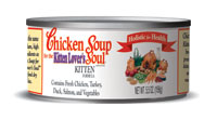 Chicken Soup For The Kitten Lover's Soul Kitten Canned Cat Food