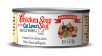 Chicken Soup For The Cat Lover's Soul Hairball Canned Cat Food