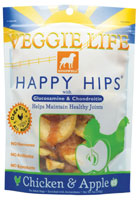 Dogswell Veggie Life Happy Hips Chicken And Apple Dog Treats