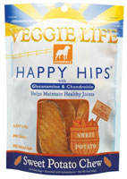 Dogswell Veggie Life Happy Hips Sweet Potato Chews Dog Treats