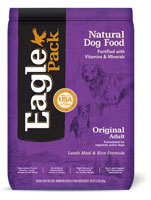 Eagle Pack Original Adult Lamb Meal with Rice Dry Dog Food