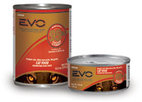EVO Grain Free 95% Chicken and Turkey Canned Cat Food