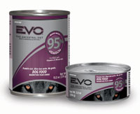 EVO Grain Free 95% Venison Canned Dog Food