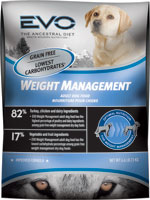 EVO Grain Free Weight Management Dry Dog Food