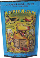 Mother Nature Chicken and Turkey with Cranberries Dog Treats