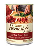 Nature's Variety Homestyle Prairie Beef and Bison Stew Canned Dog Food