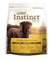 Nature's Variety Instinct Grain Free Chicken Dry Dog Food