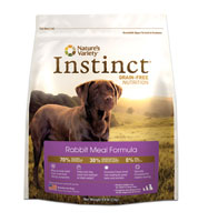 Nature's Variety Instinct Grain Free Rabbit Dry Dog Food