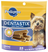 Pedigree Mini Dentastix Dog Chew Treat 24 count
