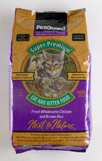 Petguard Premium Cat and Kitten Dry Food