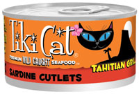 Tiki Cat Tahitian Grill Sardine Cutlets Canned Cat Food