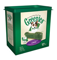 Greenies Treat Tub-Pak, Large  27 oz (30% OFF)