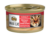 Nutro Max Savory Venison Canned Cat Food