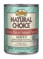 Natural Choice Chicken Rice and Oatmeal Canned Dog Food