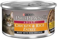 Pro Plan Cat Chicken and Rice Entree In Gravy Canned Food