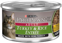 Pro Plan Adult Turkey and Rice Entree Canned Cat Food