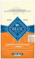 Blue Buffalo Adult Large Breed Chicken and Brown Rice Recipe Dry Dog Food