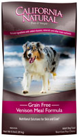 California Natural Grain Free Venison Meal Formula Adult Dry Dog Food