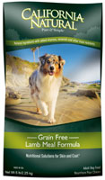 California Natural Grain Free Lamb Meal Formula Adult Dry Dog Food