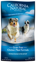 California Natural Grain Free Chicken Meal Formula Adult Dry Dog Food