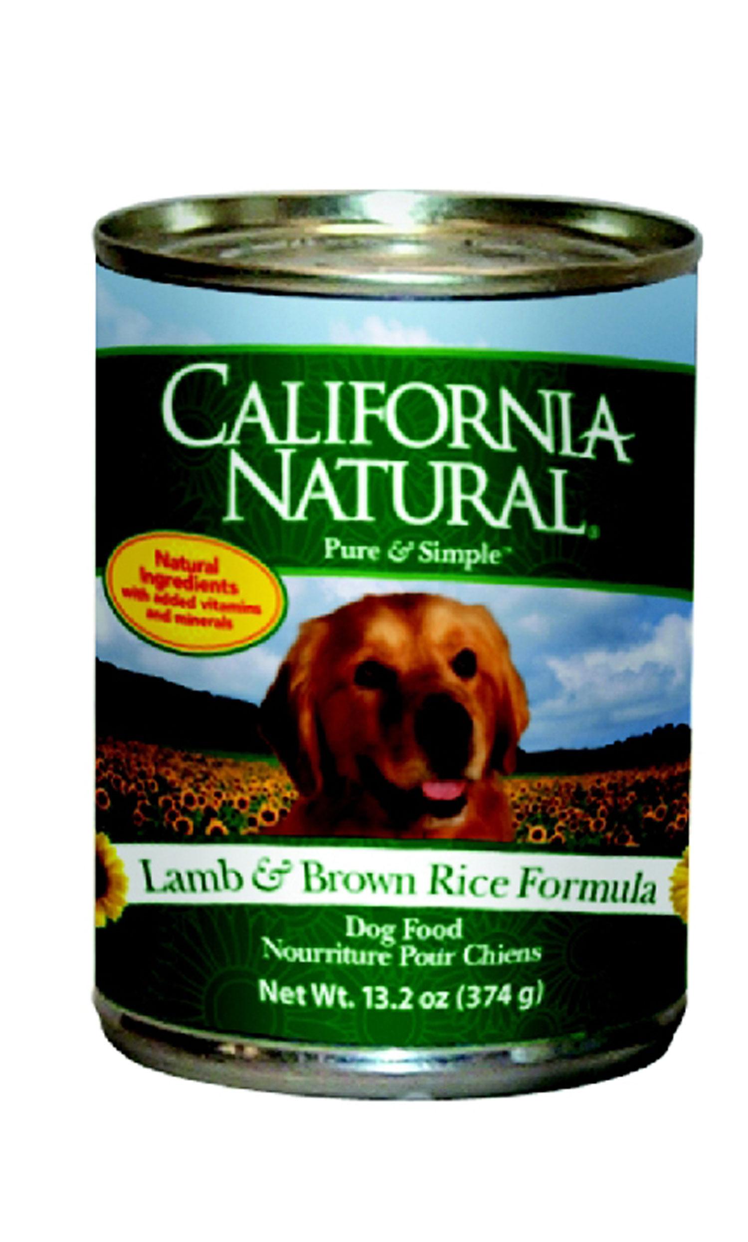 California Natural Canned Dog Food Reviews