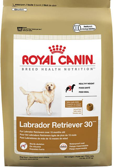 royal canin labrador retriever 30 dry dog food dog food petflow. Black Bedroom Furniture Sets. Home Design Ideas