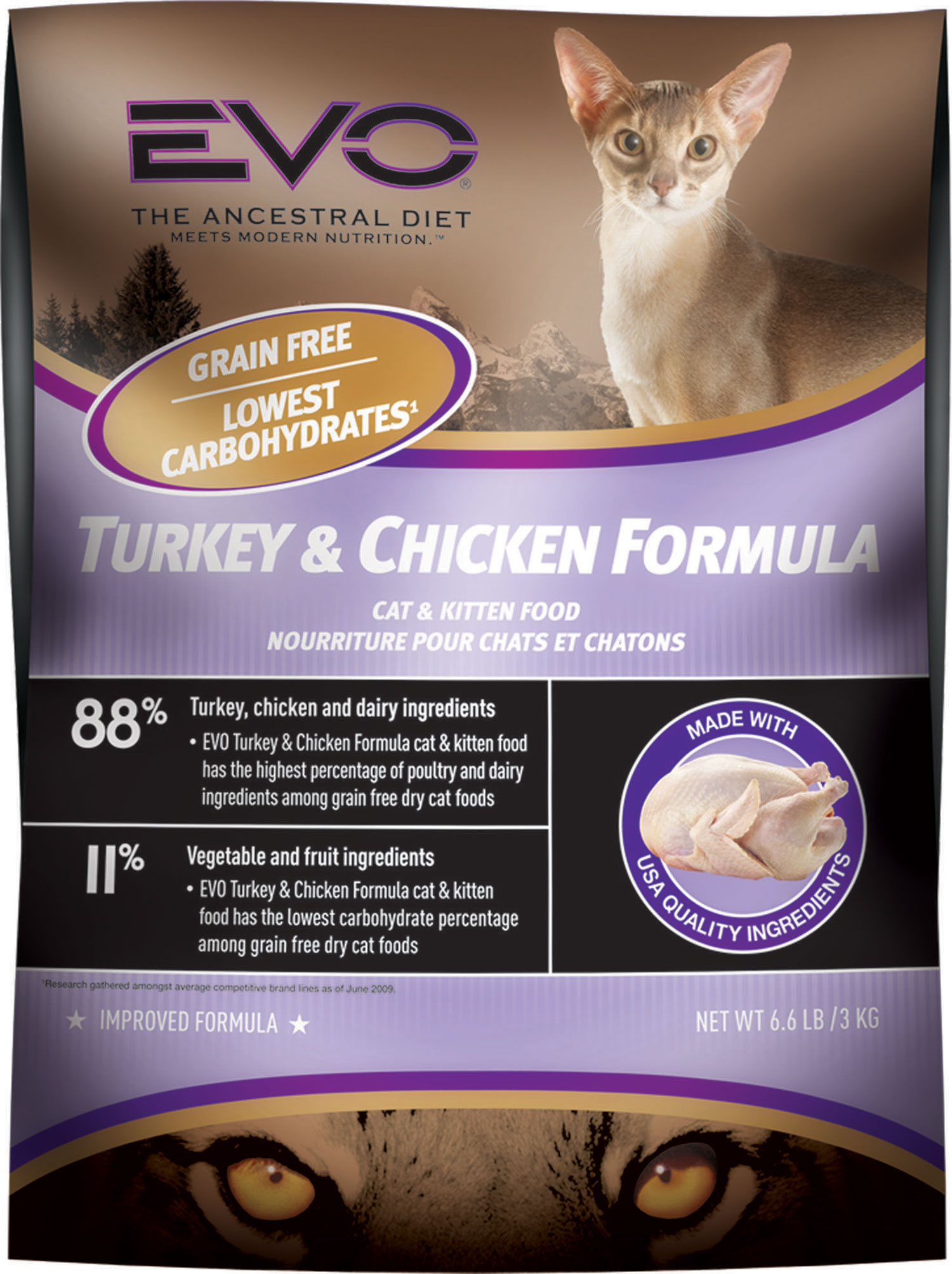 Evo Chicken And Turkey Cat Food