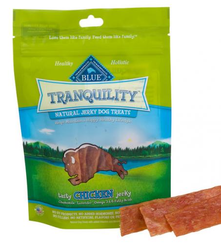 Blue Tranquility Natural Jerky Dog Treat