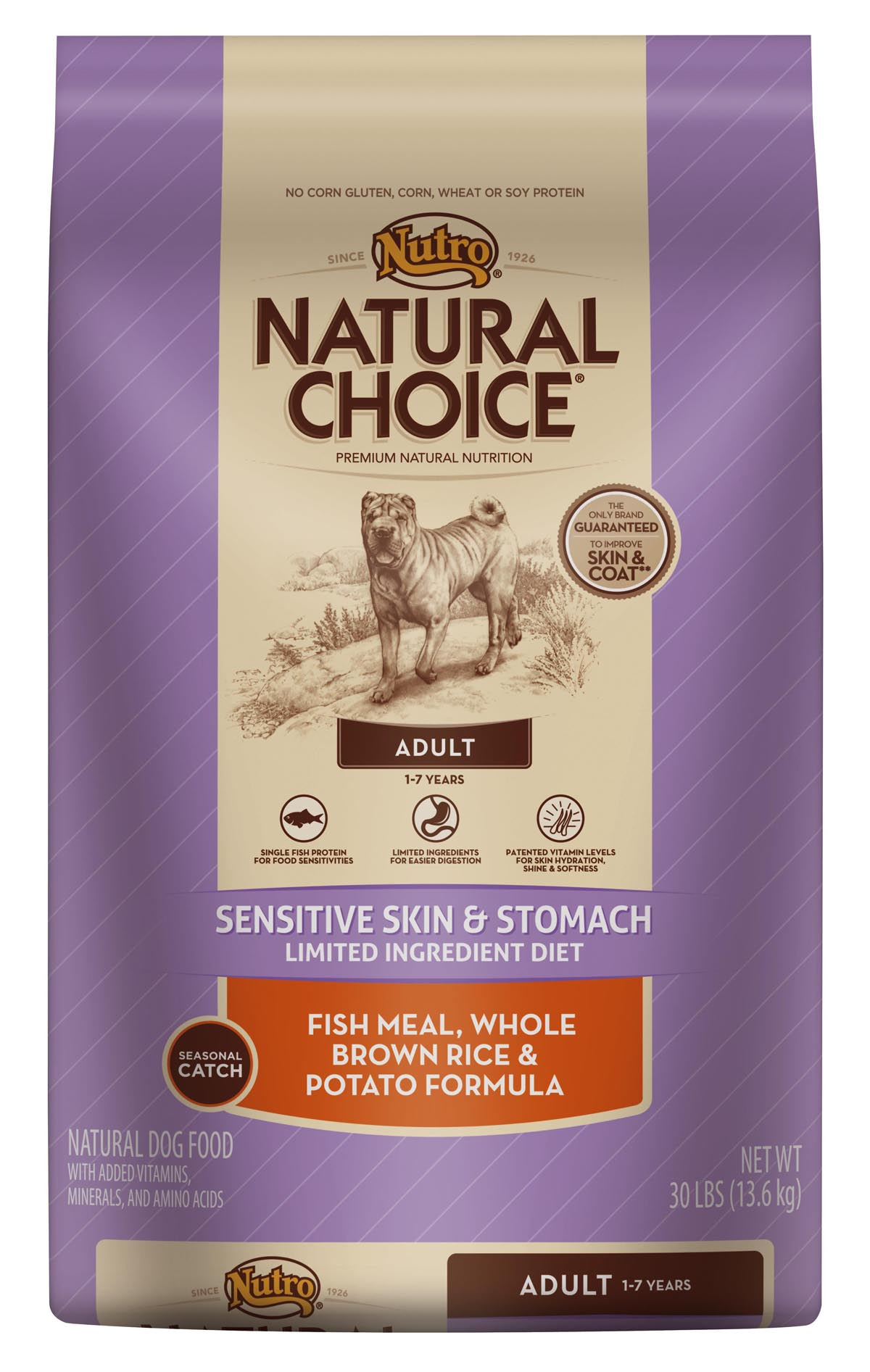 Nutro Sensitive Skin And Stomach Dog Food