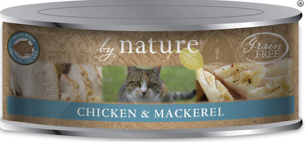 By Nature Organics Canned Cat Food